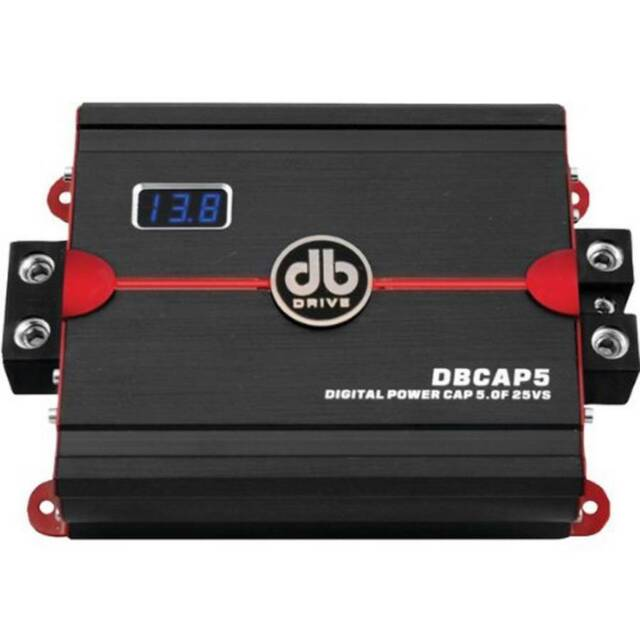DB DRIVE DBCAP5 5-Farad OKUR Series AMP-Style Capacitor