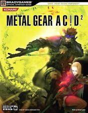 Metal Gear Acid 2 BradyGames PSP Players Guide  2006