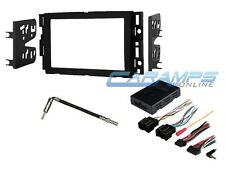 NEW DOUBLE 2 DIN DVD CAR STEREO RADIO COMPLETE INSTALLATION DASH MOUNITNG KIT