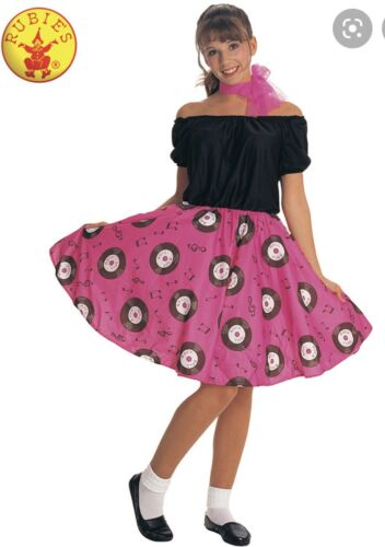 (1) 50's Rock and Roll Poodle Dress Halloween Cost