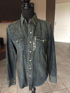 Lauren 100 dg bluse Und hemd s ralph Elegant jeanshemd sportlich lp250€ original ErqwUr