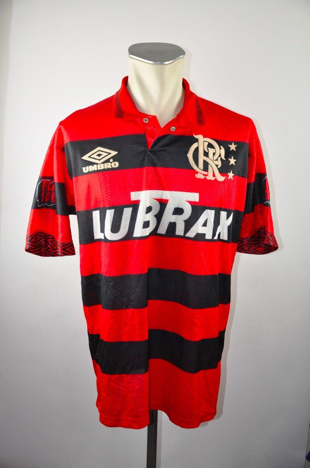 Flamengo Trikot Gr. L G 1994-1995  00 Home Umbro jersey Brazil vintage CR