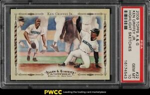 2009-Topps-Allen-amp-Ginter-Highlight-Sketches-Ken-Griffey-Jr-22-PSA-10-GEM-MINT