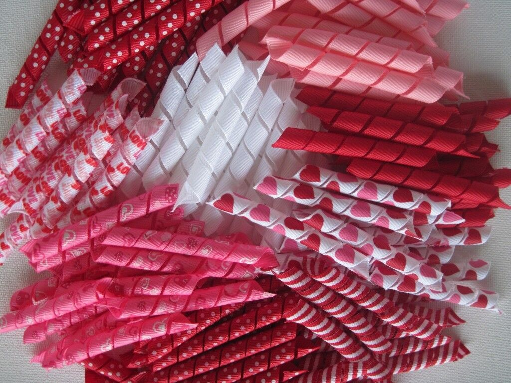 Korker Ribbon~100 precut pieces~heat sealed~ HOLLOWEEN~you pick the size