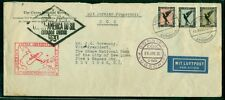 Germany 1931, Dox Flight to Us w/1+2+3mk Airmail stamps, proper markings & cach