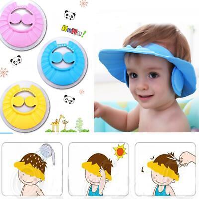 Baby Shower Shampoo Cap Bad waschen Haare weiche verstellbare Bad Schild Hut