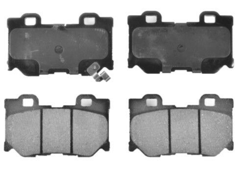 Disc Brake Pad Set-Ceramic Pads Rear OPTEVE BRAKES fits 2008 Toyota Highlander