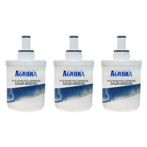 Aurora Compatible Water Filter for Samsung DA29-00003G 3packs DA29-00003A