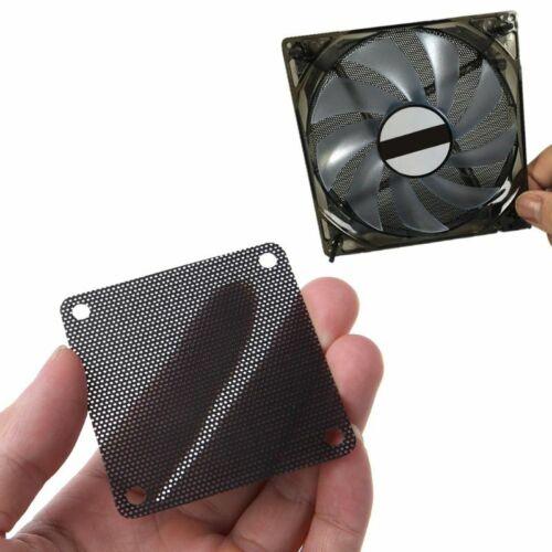 5PCS PVC Fan Dust Filter PC Dustproof Case Cuttable Computer Mesh Cover 60mm