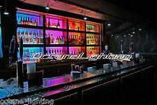 LED RGB Color Changing Bottle Rack Bar Back Hookah Lounge Table Night Club Light
