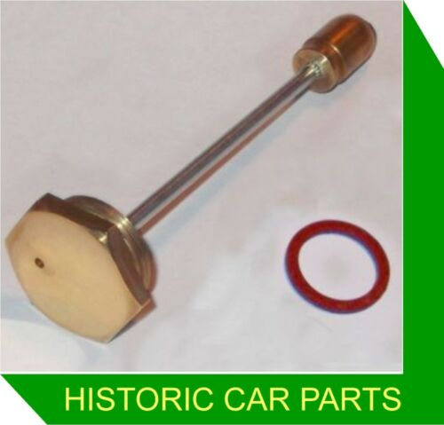 "1¼"" HS2 SU Carb HEX BRASS PISTON DAMPER /& Gasket WOLSELEY 1100 1098cc 1962-74"