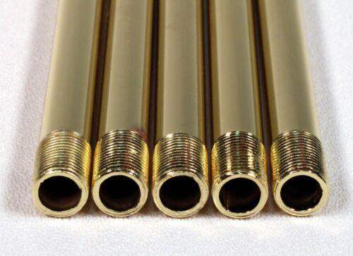 2 In Offset Bent Pipe 5 pk 13 In Long Threaded Lamp Fixture Rod 1//8 IP Steel