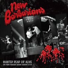 Wanted Dead Or Alive - New Barbarians (2016, CD NIEUW)