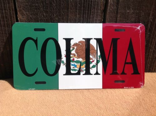Colima Mexico Flag Wholesale Novelty License Plate Bar Wall Decor