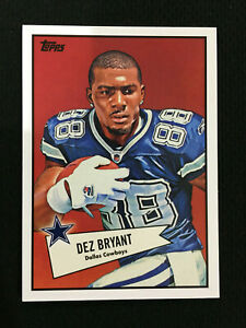 Details About Dez Bryant Rookie Topps 2010 Dallas Cowboys Rc Football Card