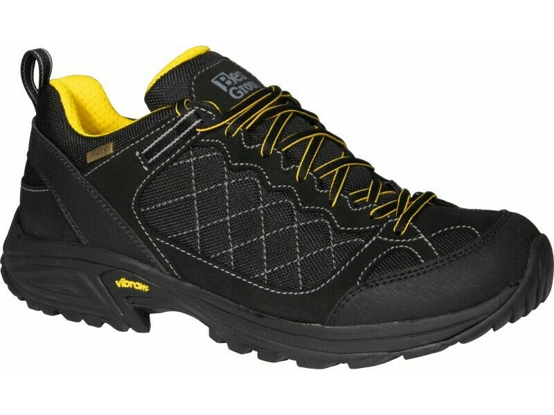 Best Group Mens Black Breeze Walking Boots Shoes UK 7.5 EU 41