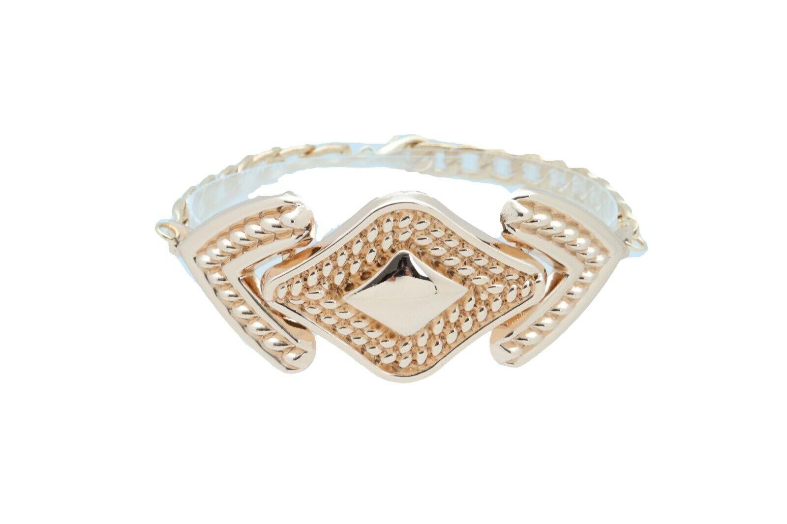 Sexy Women Gold Metal Chain Boot Bracelet Western Shoe Anklet Arrow Charm Urban