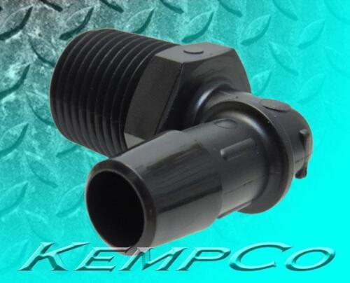 """10 1//2/"""" NPT x 1//2/"""" Hose-Barb Elbow Nylon Adapter Fittings Auto Boat Hydroponic"""