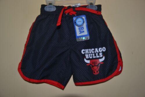 CHICAGO BULLS BASKETBALL SWIM SUIT-BOYS SIZE 2 TODDLER-LICENSE LINED REAR POCKET