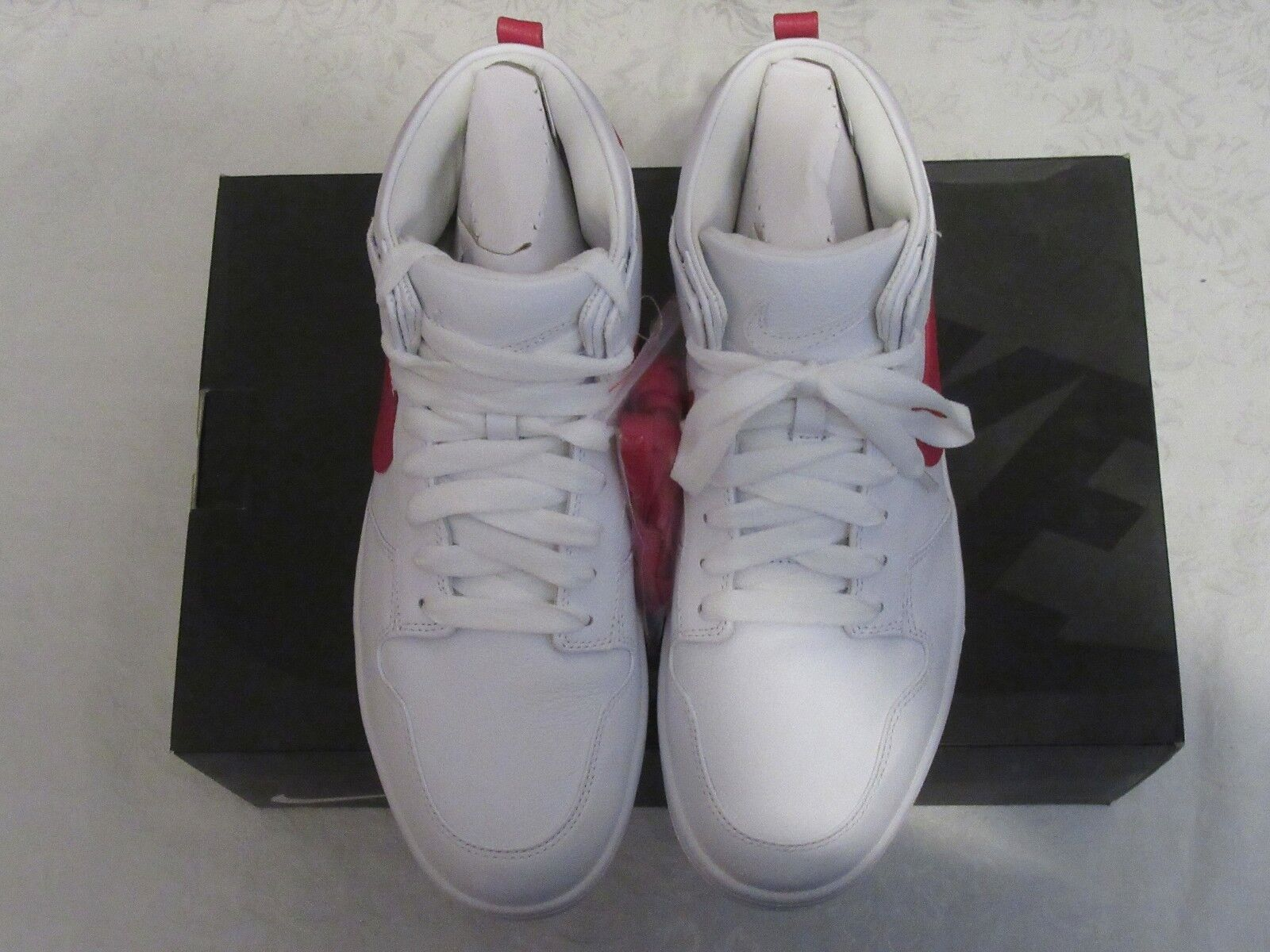 8cd20bea07 Nike Lux Chukka RT Riccardo Tisci Red White white red 100 Size 11 910088  Dunk nqbgtj2422-Athletic Shoes