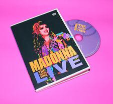 RARE Madonna The Virgin Tour Live DVD 1985 Dress you, into the groove Free ship!