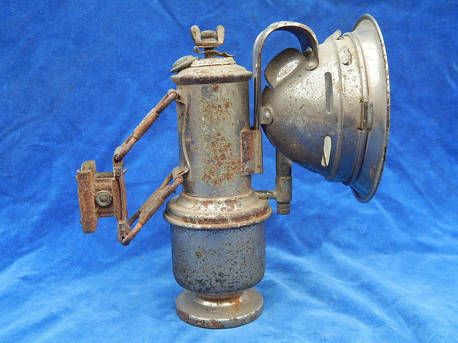 LAMPE CARBURE   Carbide lamp - PRESSLER