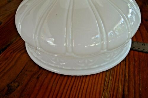 """Coleman Table Lamp Milk Glass Shade 10/"""""""