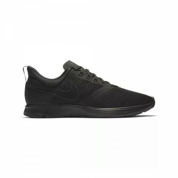 Hombre Nike Zoom Huelga Zapatillas Gym Corriente Negro AJ0189 010 UK 10 Ue 45