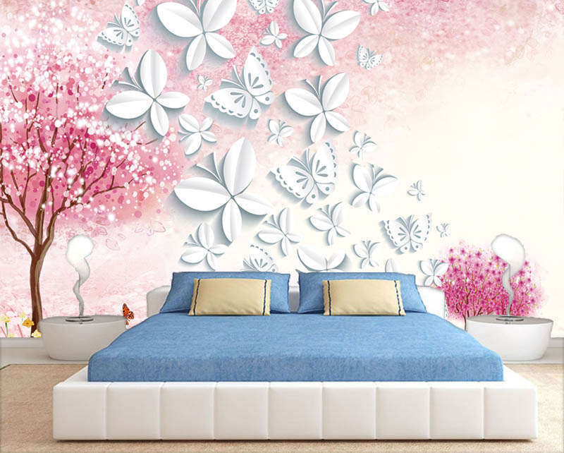 Lyric Terrific Tree 3D Full Wall Mural Photo Wallpaper Printing Home Kids Decor