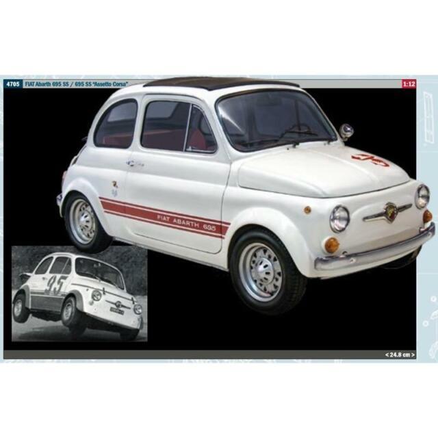 Italeri 4705-1//12 Fiat Abarth 695SS//Assetto Corsa Neu