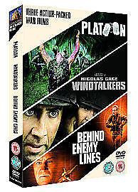 1 of 1 - Platoon / Windtalkers / Behind Enemy Lines (3 x DVD)