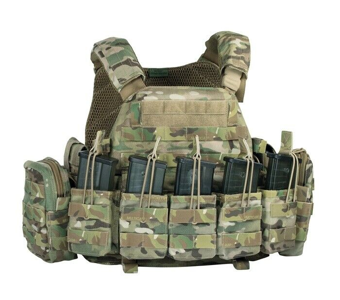 Warrior Assault DCS G36 Plattenträger Plate Carrier Weste Vest Multicam Gr. M