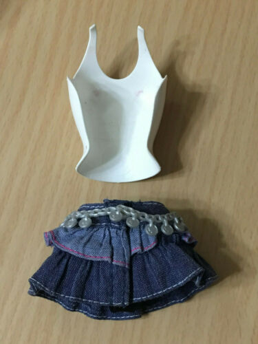 Barbie My Scene Kennedy Doll's Lots Of Looks Snap Clip On Top Skirt Outfit Rare