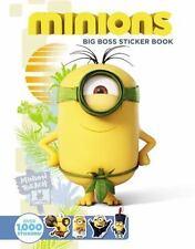 MINIONS BIG BOSS STICKER BOOK (9780316300018) -  (PAPERBACK) NEW