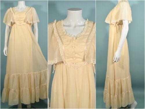 Candi Jones, Gunne Sax Style Maxi Dress, Cottagec… - image 1
