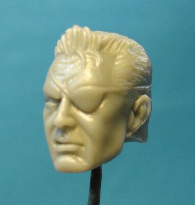 "ML066 Custom Cast Nick Fury head use with 6/"" 7/"" Marvel Legends action figures"