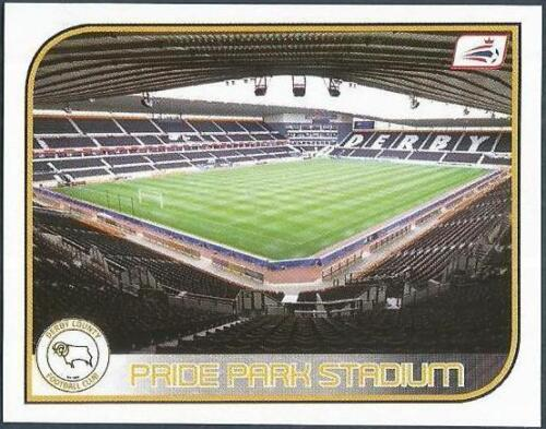 #202-DERBY COUNTY-PRIDE PARK STADIUM PANINI CHAMPIONSHIP 2009