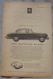 1961-Daimler-Majestic-Major-Original-advert-No-1