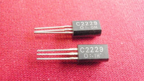 Transistor 2sc2229 NPN UNI 70v 0,1a 0,2w 2x 21531-11