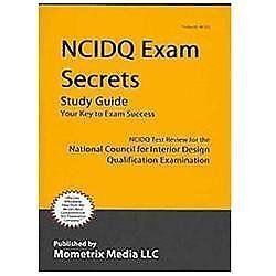 Stock photo  sc 1 st  eBay & NCIDQ Exam Secrets Study Guide : NCIDQ Test Review for the National ...