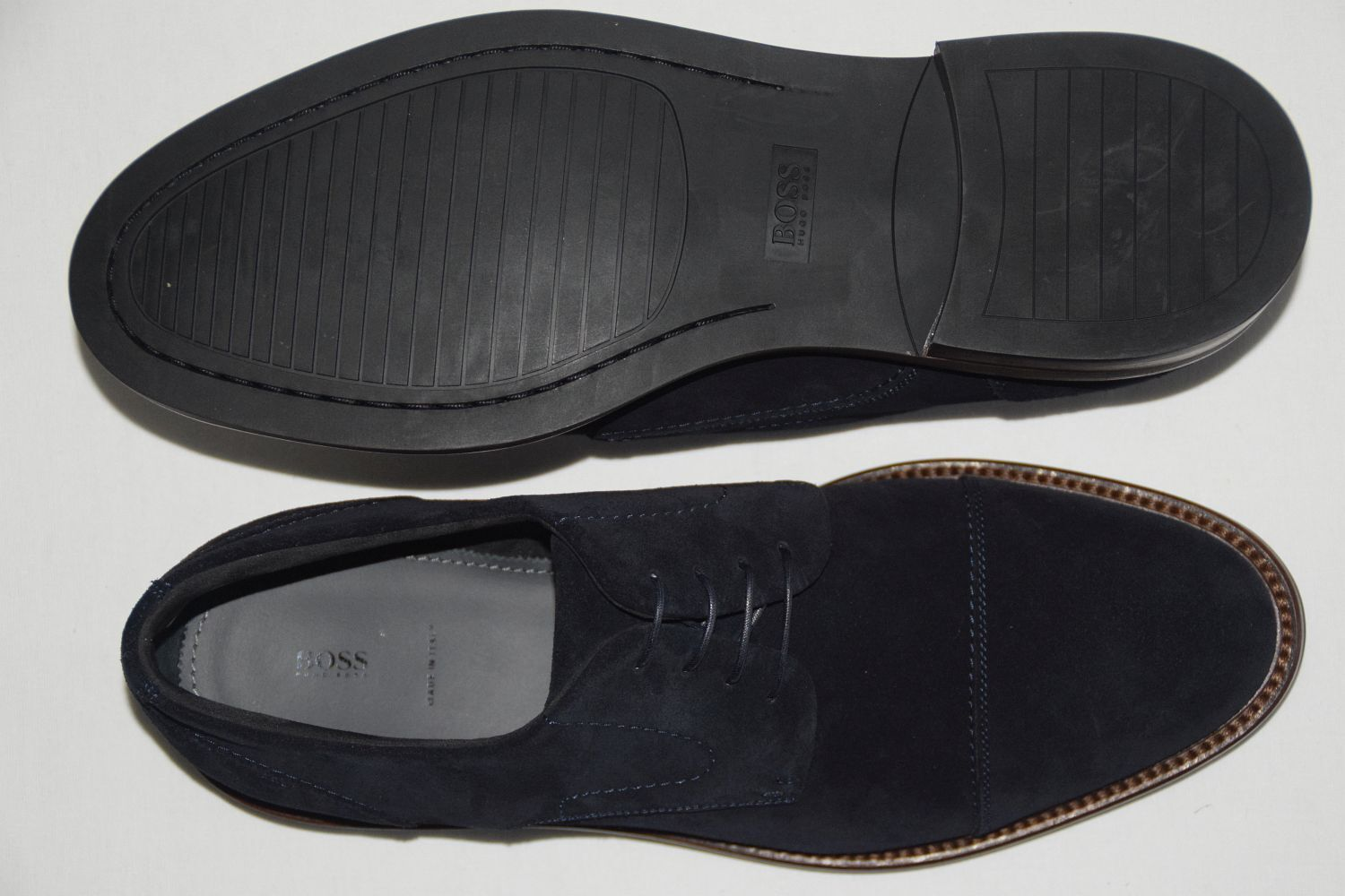 HUGO BOSS BUSINESSSCHUHE, Gr. EU 43,5, 43,5, 43,5,   , Made in , Dark Blau 842122
