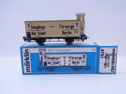KV 703Bella Märklin h0 4781 latte-Carrello di raffreddamento assistenza neonato Berlino in scatola originale
