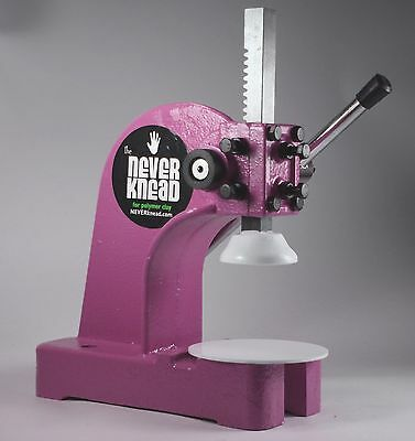 HOT PINK NEW POLYMER CLAY KNEADER MACHINE - EASY * FAST NEVERknead FIMO Pavelka