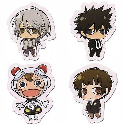 Psycho Pass Sticker Set Of 4 Akane Tsunemori Authentic Anime Manga Licensed New