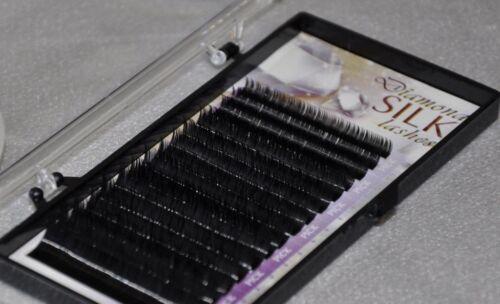 or .25mm x 6-14mm 7 sizes mixed .20 Eyelash Extensions Diamond Silk J Curl .15