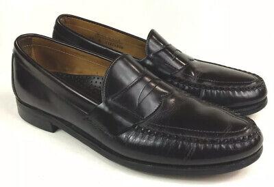 sebago Dark brown slip on penny loafer mens shoe 11B | eBay