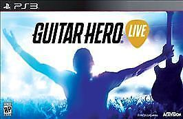 PS3 GUITAR HERO LIVE BUNDLE WITH CONTROLLER & GAME BRAND NEW SEALED