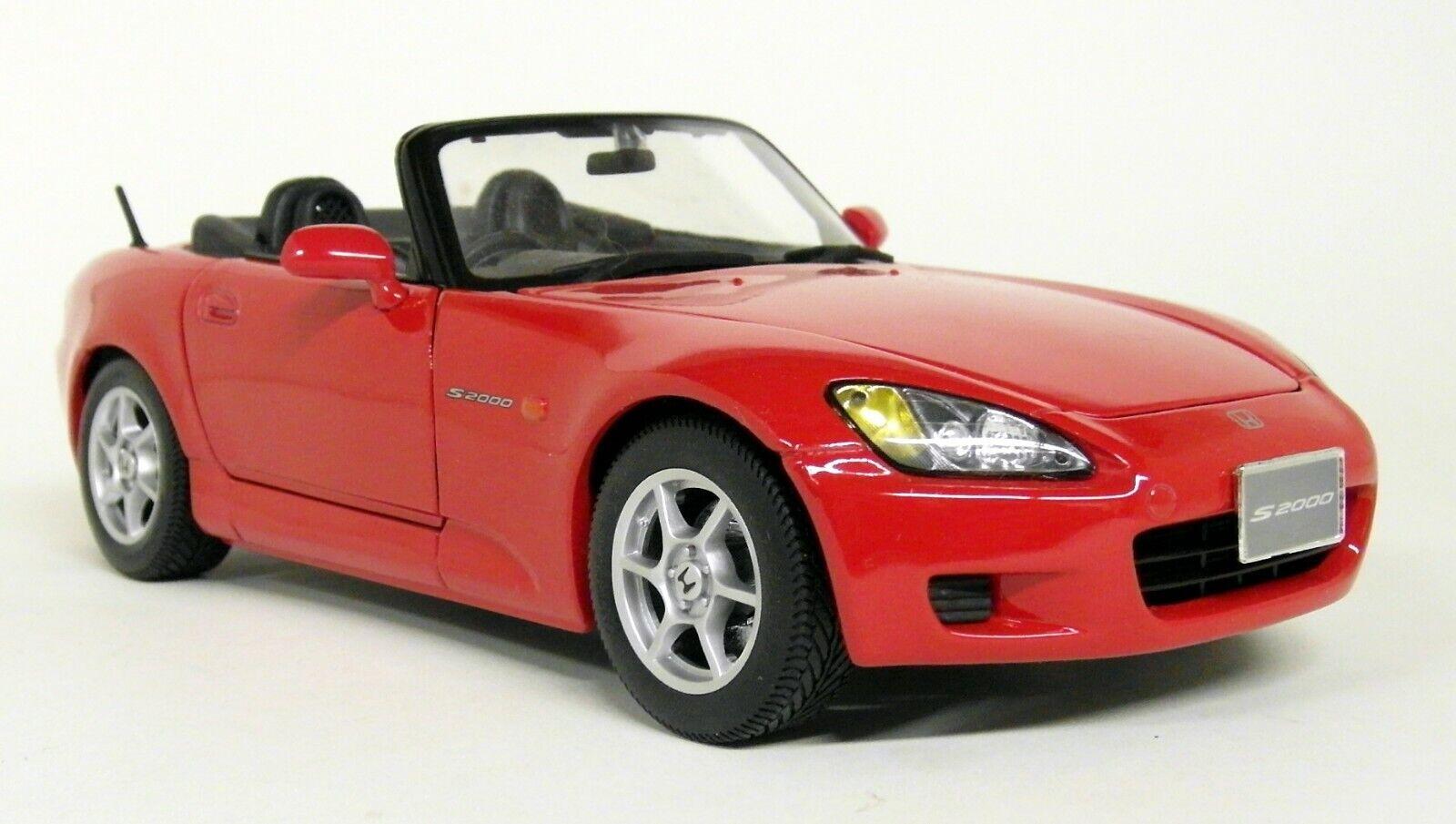 Maisto échelle 1 18 - HONDA S2000 version japonaise  RHD rouge Diecast Voiture Modèle  économiser 50% -75% de réduction