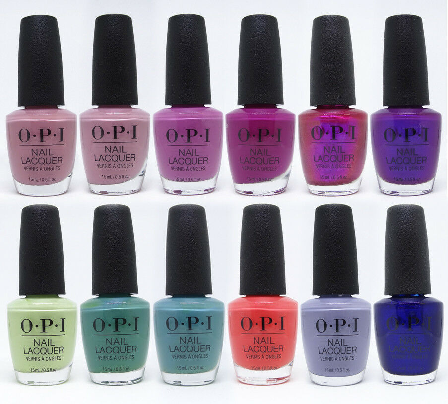 Nail Polish Colors Spring 2018 Opi: OPI Tokyo Collection Spring Summer 2019 Nail Lacquer