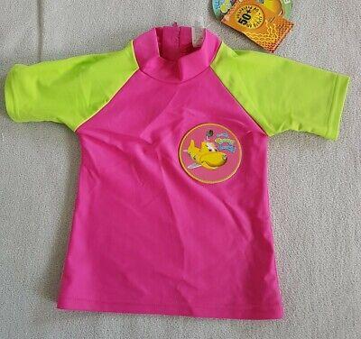 """92//98 pink,/""""Tauch Timmy tauch!/"""" Gr Badehose UV-Schutz Mädchen Neu"""